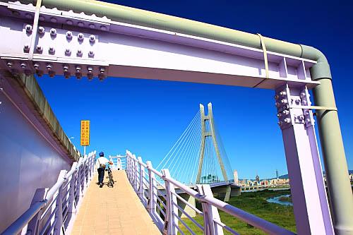 771J二重疏洪道斜張橋-新北大橋