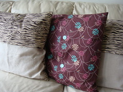 Cushions Back View