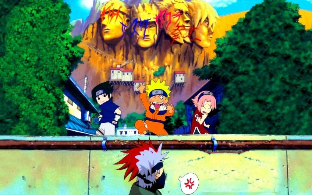 Kids Sasuke Naruto And Sakura Kakashi Sensei Thamy Zoro I Flickr