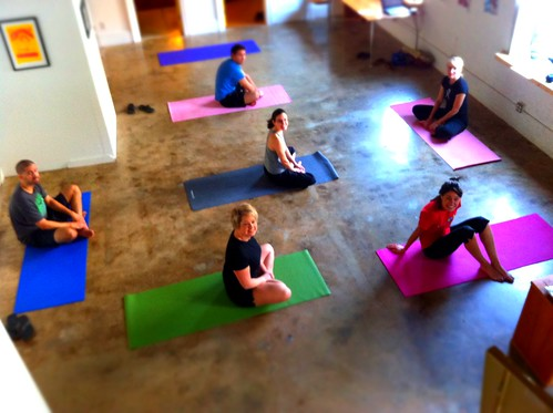Yoga at Designbox with Jessica Mollet