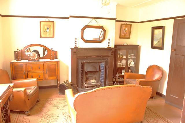 1920 39 s living room flickr photo sharing for Living room 1920 s