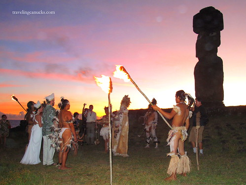 Polynesian Wedding, Easter Island