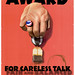 Sopping Wet Tea Bag Award for Careless Talk by outtacontext