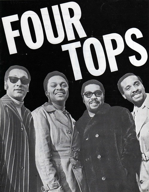 Four Tops Tour 23 11 70 Birmingham Odeon