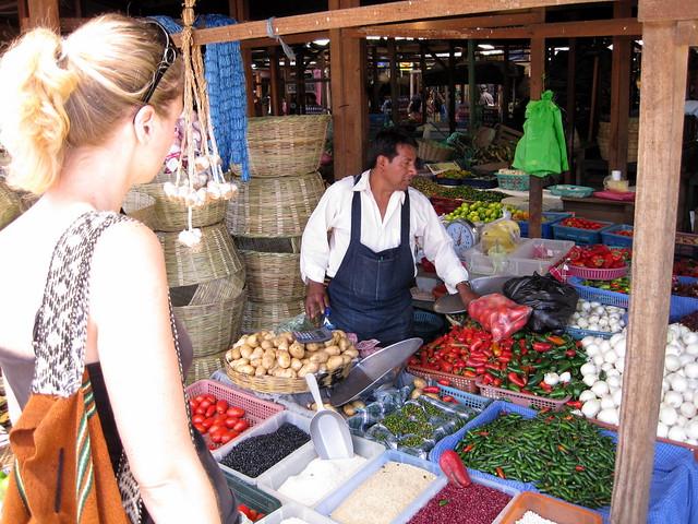 Colorful Central Markets of Antigua, Guatemala