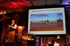 James Howard Kunstler Speaks at 2010 Michigan Municipal League Convention