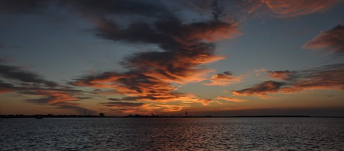 morning sky sun sunrise landscape dawn twilight northcarolina daybreak morningsky firstlight atlanticbeach moreheadcity boguesound tadsunrise sunrisedaily