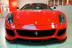 wheel(0.0), race car(1.0), automobile(1.0), automotive exterior(1.0), ferrari 599 gtb fiorano(1.0), vehicle(1.0), automotive design(1.0), bumper(1.0), ferrari s.p.a.(1.0), land vehicle(1.0), luxury vehicle(1.0), supercar(1.0), sports car(1.0),
