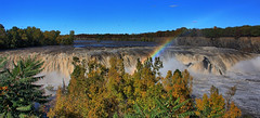 Cohoes Falls Panorama in HDR