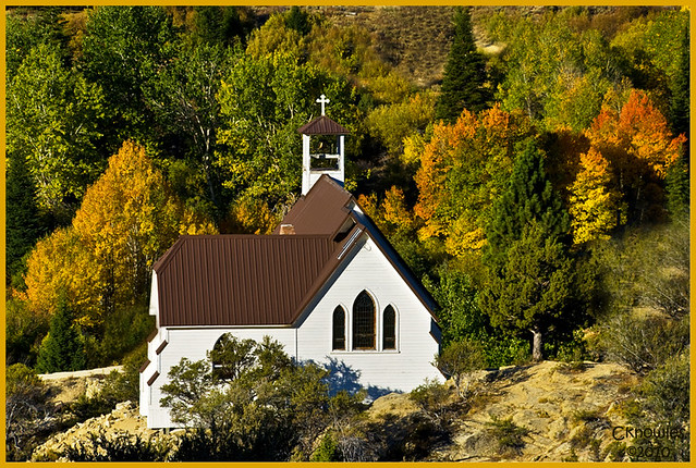 Small Church in Silver City Idaho