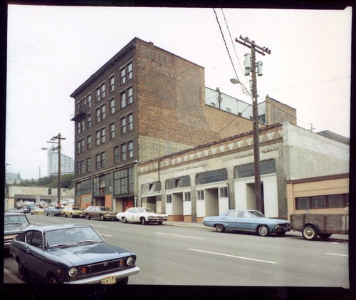 Alki Hotel from 5th, c 1974