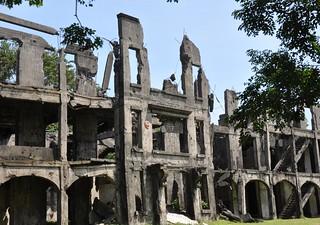 Corregidor Island - scars of war