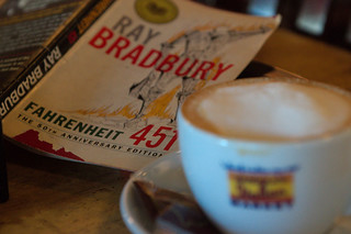 Latte & Fahrenheit 451