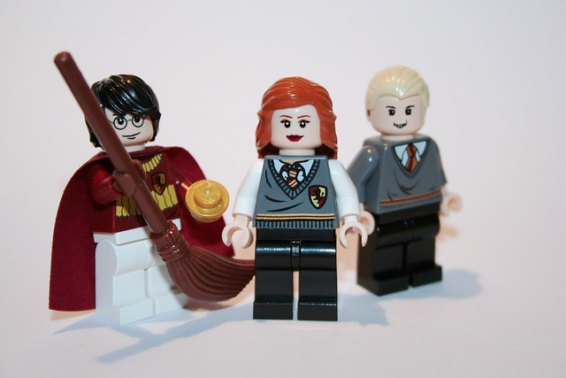 Quidditch James, Prefect Lily and Wormtail
