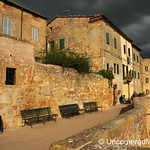 Late Afternoon Light Show - Pienza, Tuscany