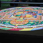 Tibetan Sand Mandala Creation.