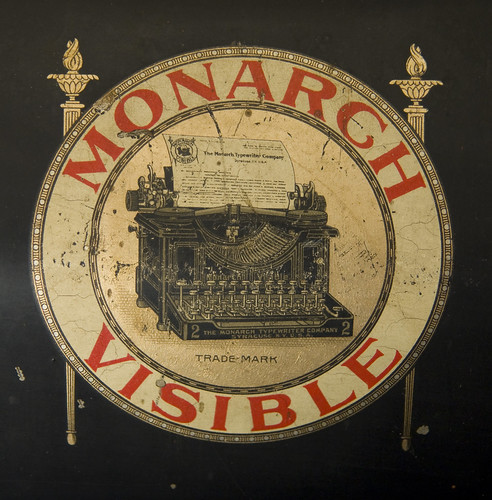 Monarch no. 2 typewriter logo