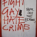 Small photo of Fight Gay Hate Crime - Bail Out The Schools