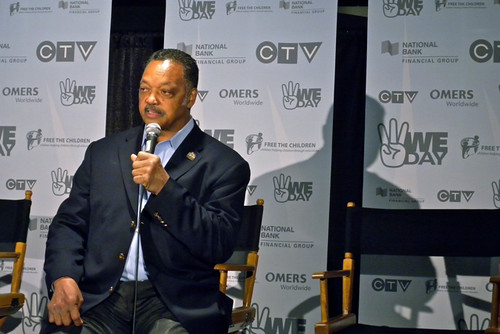 We Day 2010 - Rev Jesse Jackson Sr