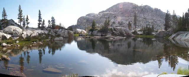 Small lake in Granite Basin where I pumped water.