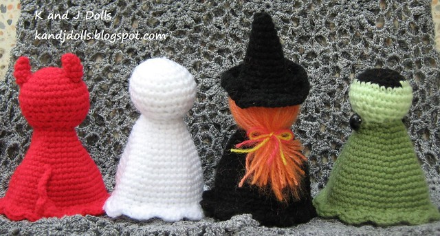Free Crochet Patterns Halloween : CROCHETED PATTERNS FOR HALLOWEEN - Crochet and Knitting ...