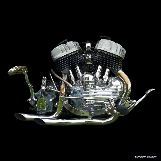 No111: CLASSIC HARLEY DAVIDSON FLATHEAD V-TWIN ENGINE | Flickr - Photo ...