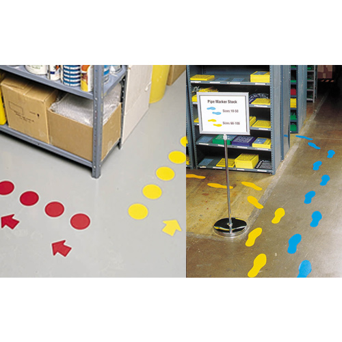 How To Use Floor Marking Shapes