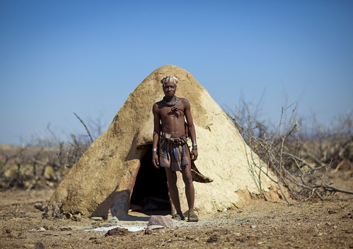Traditional Himba house - Angola