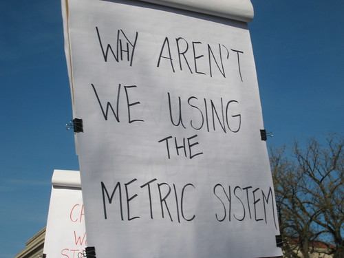 I'm an American and I use the Metric System