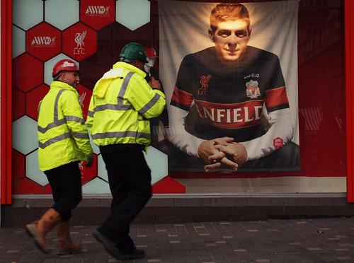 Steven Gerrard billboard