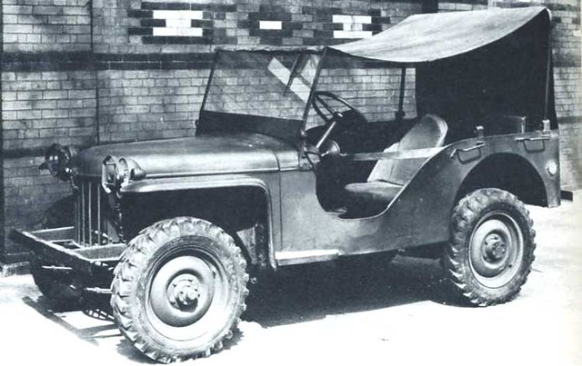 Bantam Scout Car - The original jeep