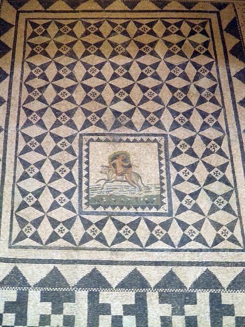 Mosaic, National Museum of Roman Art, Augusta Emerita