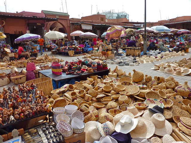 Medina. Marrakech.