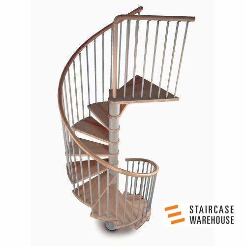 Perfect C20 Plus Kit Spiral Staircase Stairs By Staircase Warehouse 01