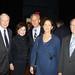 10/13/10 - 4:22 PM - Joseph and Alma Gildenhorn, Ambassador Oren and wife, and Yoram Peri