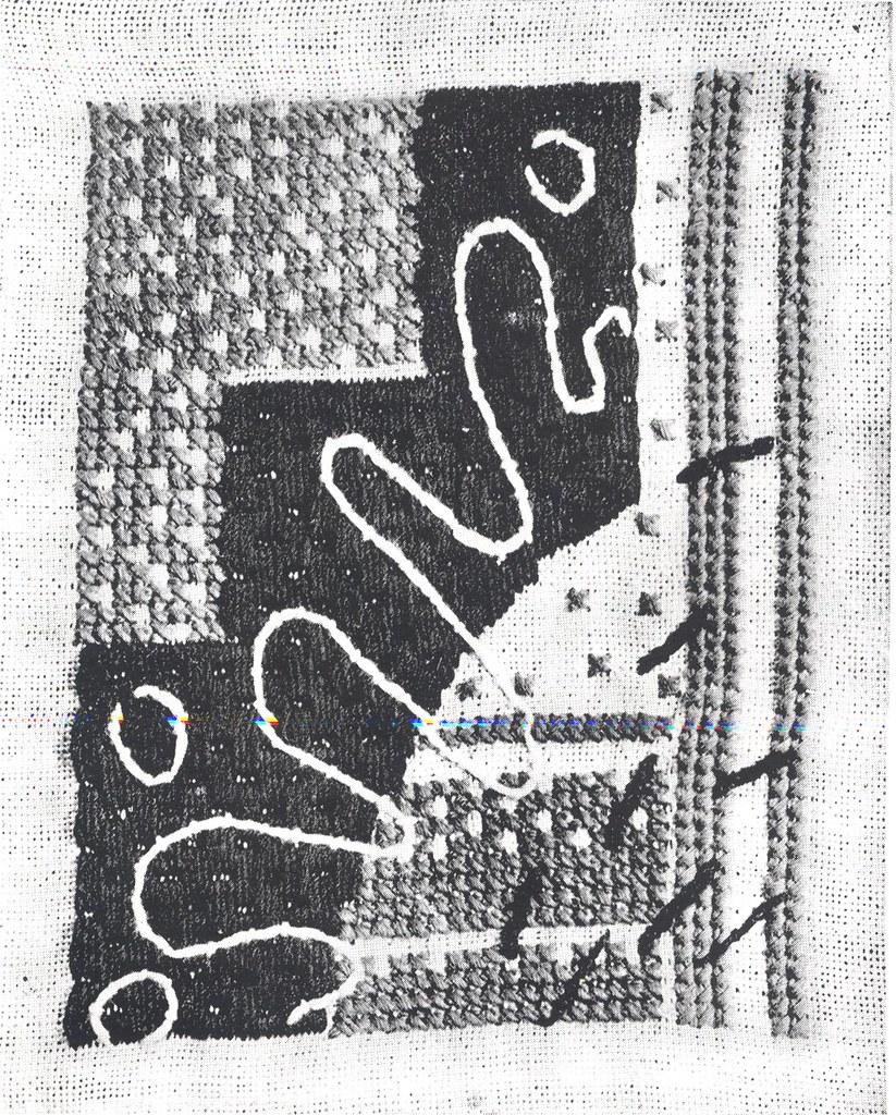 Rebecca Crompton stitched panel 4