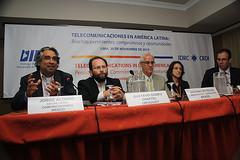 Jorge Alonso, Gustavo Gómez, Antonio Botelho, Roxana Barrantes y Gabriel Laender