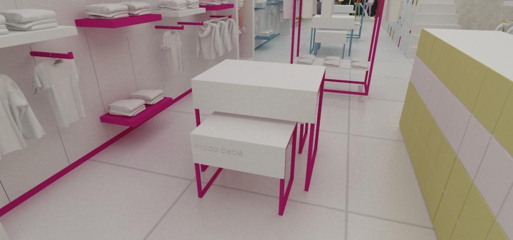 Diseño de Mobiliario para Tienda de ropa de Bebe - a photo on Flickriver