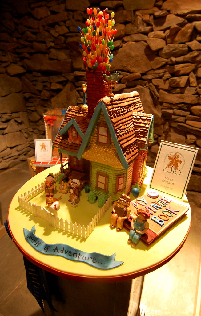 UP! Gingerbread House