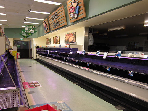 empty shelves in Queensland