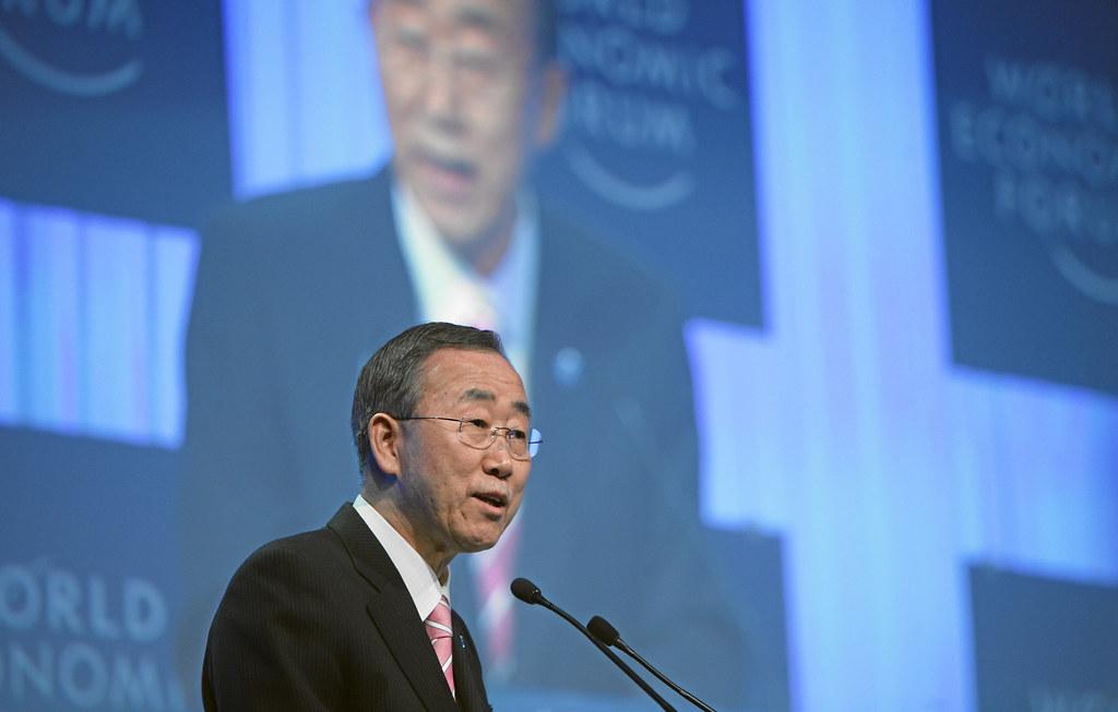 Ban Ki-moon, siamo qui per fare la storia