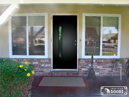 The front door from solid slab to super fab california for Domestic front doors