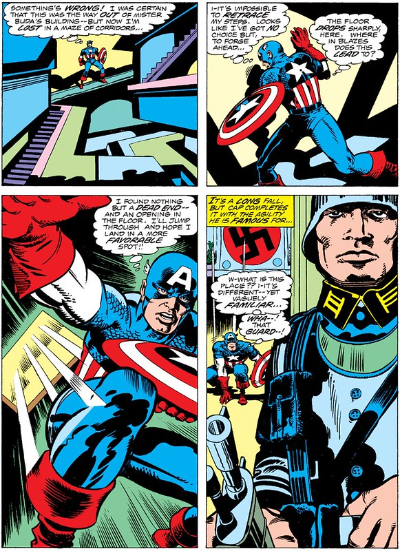 Capt America Smith inks Kirby