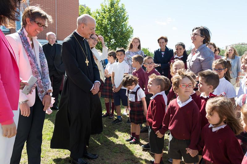 El prelado del Opus Dei en Fuenllana