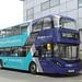 Arriva Cymru 1012 CX17BXP King Street, Wrexham 3 July 2017
