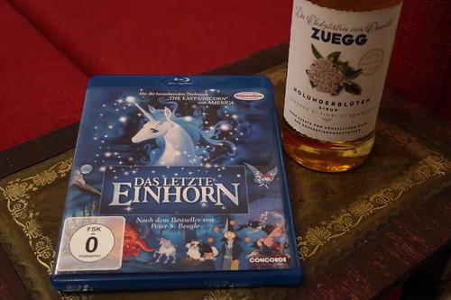 """Zeichentrickfilm """"Das letzte Einhorn"""" und Holundersirup"""