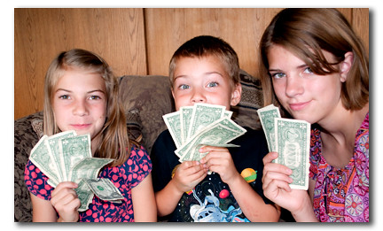 how to teach kids money skills