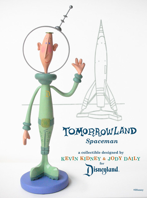 Disneyland Spaceman Figurine