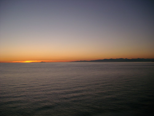 Sunset over Georgia Strait