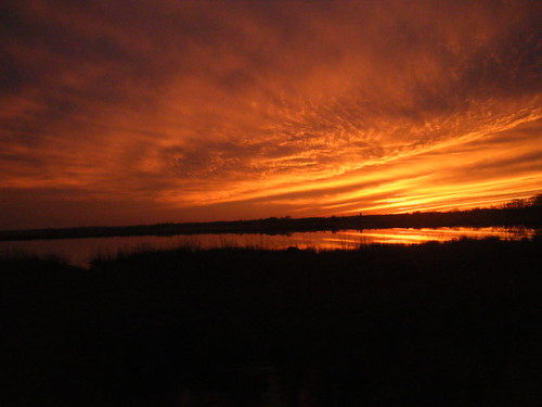 bridge sunset reflection bay chesapeake